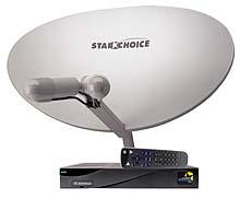 star choice satellite